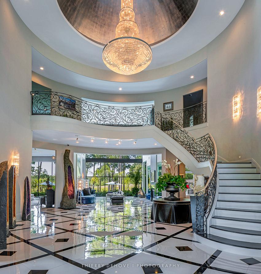 Stunning entrance