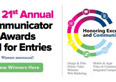 2015 21st Annual Communicator Award of Distinction Winners