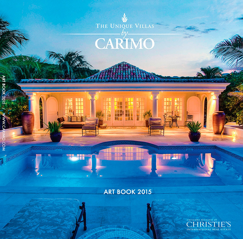 The Unique Villas by Carimo - Art Book 2015 from Saint Martin