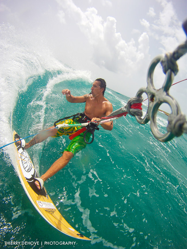 Go Pro Hero my best kitesurfing photos in Anguilla