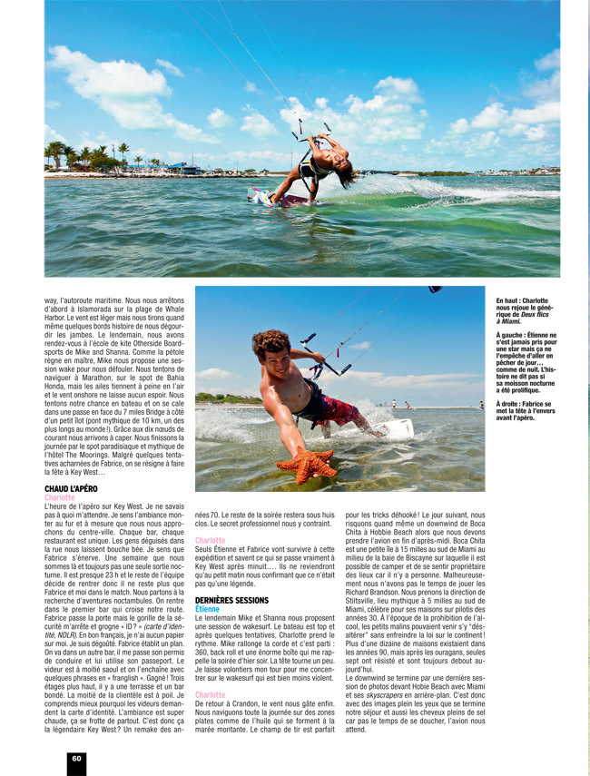 Kite Boarder Magazine 71 in Miami
