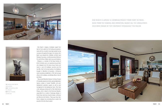 Maco Magazine Zemi Beach Feature