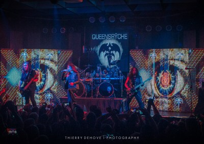 Queensrÿche performs at the Culture Room in Fort Lauderdale, Florida