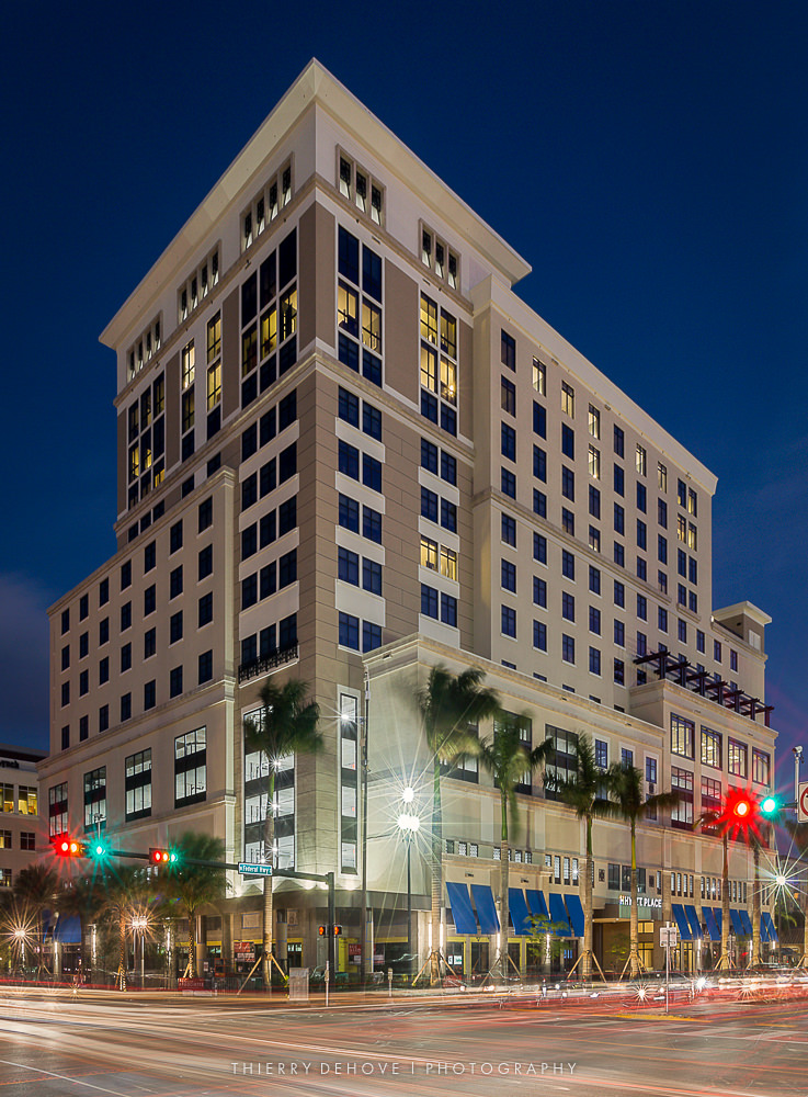 Hyatt Place Hotel in Boca Raton, Florida by Kast Building