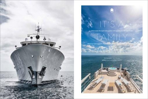 Feadship Yacht Berilda Featured in Boat International December 2017