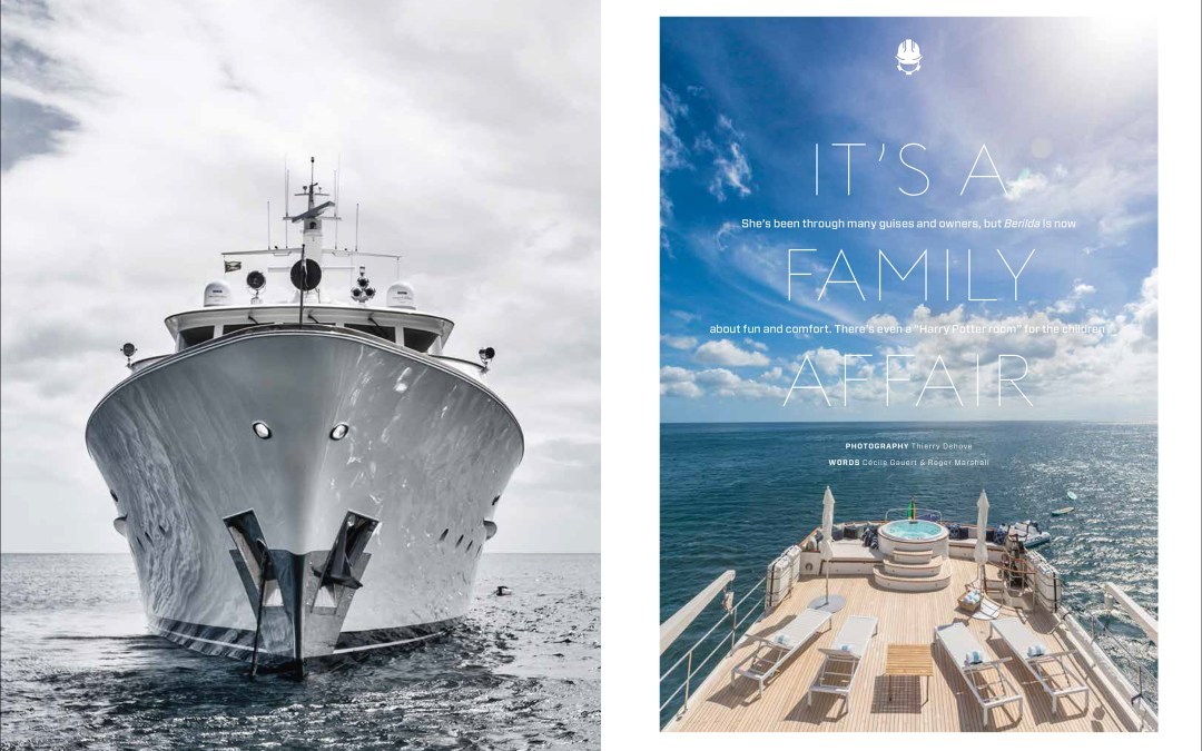 Feadship Yacht Berilda Featured in Boat International December 2017