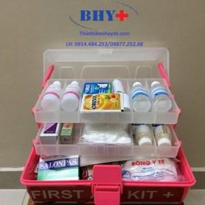 Hộp Cứu Thương FIRST AID KIT (Dùng cho 30 người)