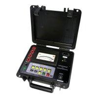 Thiết bị đo điện trở cách điện chỉ thị kim, điện áp thử tới 2500V