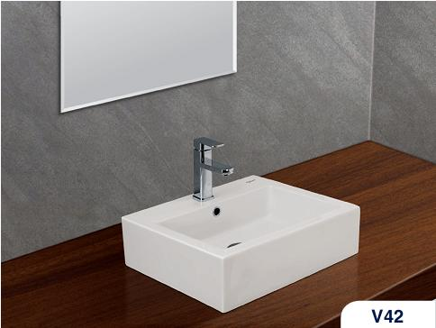 Chậu rửa lavabo Viglacera giá rẻ chính hãng
