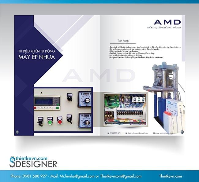 Thiết kế Catalogue công ty