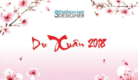 Backdrop xuân 2018
