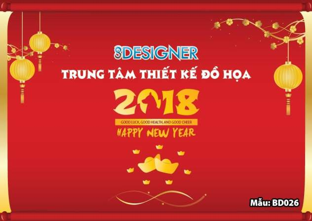 background tất niên 2018