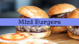 15 Mini Burgers Recipes to try this Summer