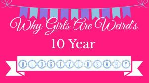 Why Girls Are Weird's Blogiversary Giveaway
