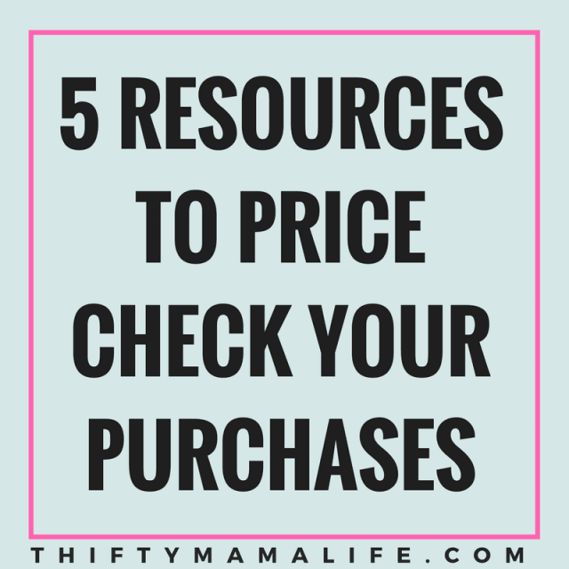 5 Resources to Price Check your Purchases