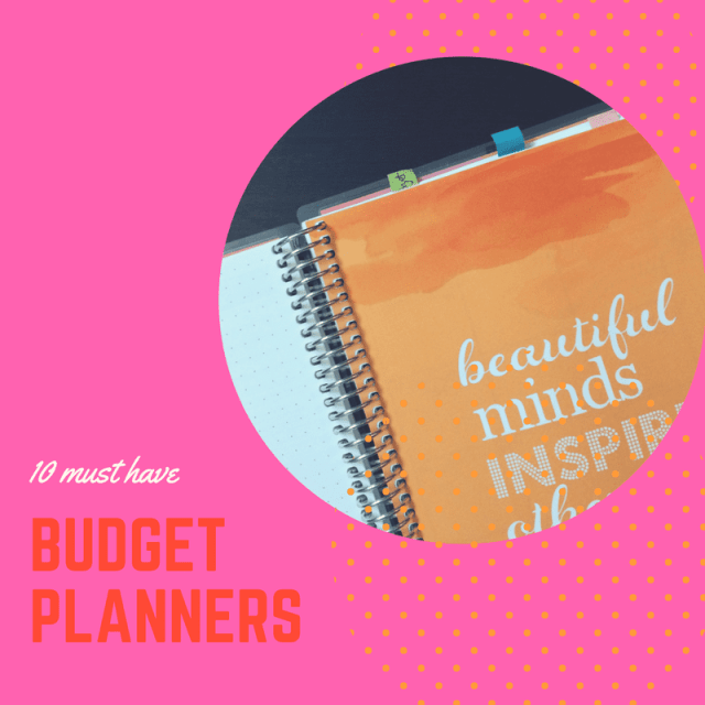 10 must have budget planners
