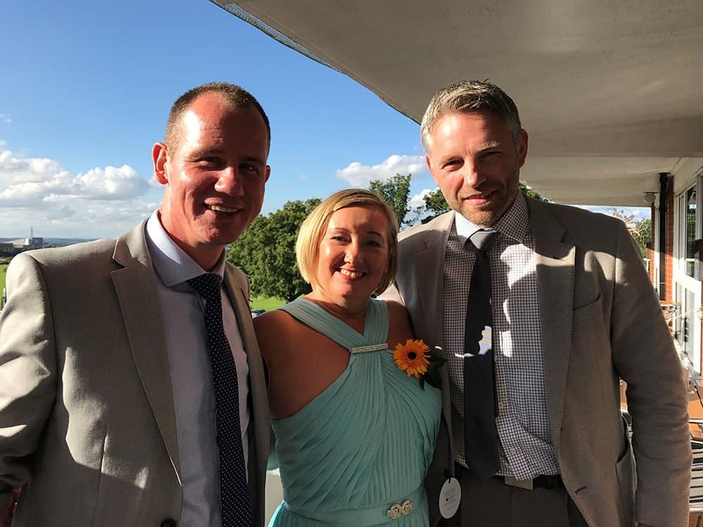 Herida Healthcare's Neil Smith, Sue Dolman and John Kay
