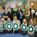 Specialist bed-maker springs into action to raise thousands for Macmillan