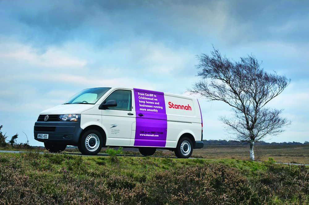 Stannah Stairlifts van