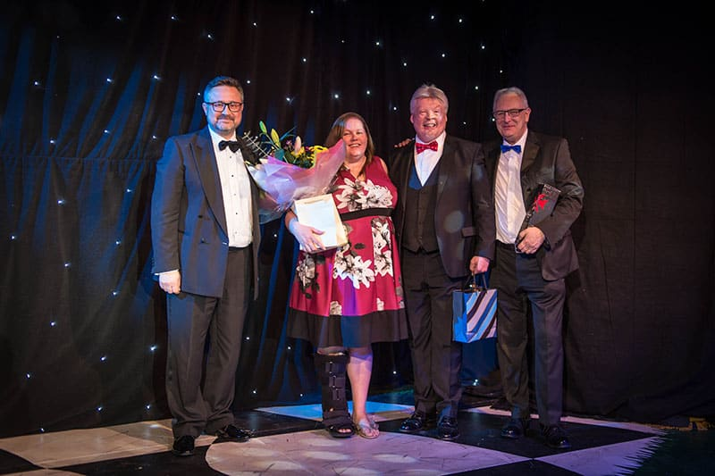 BHTA Awards Steve Perry, Sally Edginton and Alastair Maxwell