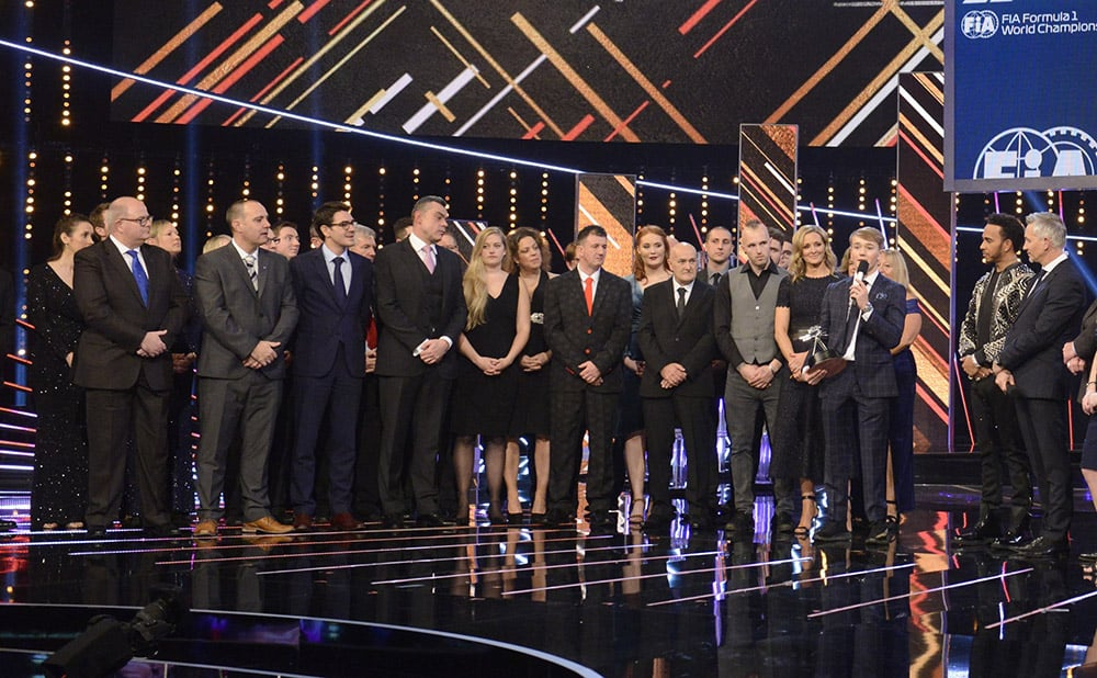 Dorset Orthopaedic at BBC Sports Personality of the Year ceremony 2018 image