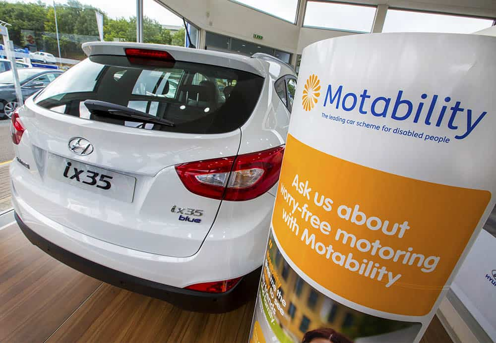 Motability (the charity) is operated by Motability Operations