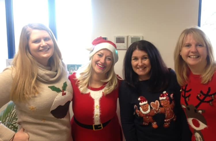 Premiere Healthcare Christmas Jumper Save the Children