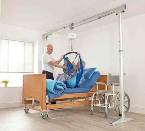 Prism Medical Product Gantry patient and healthcare professional