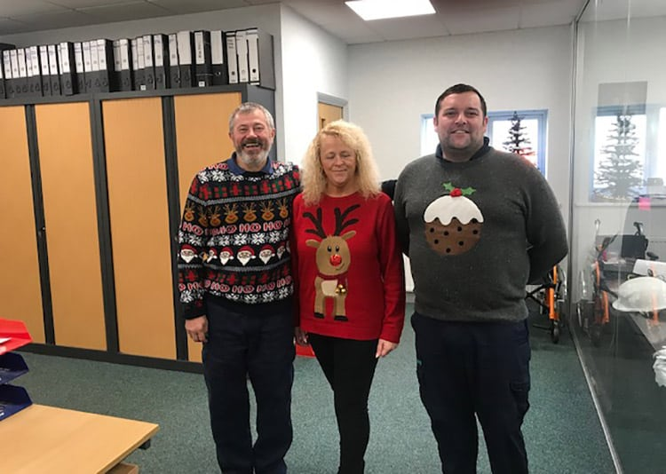 Sumed team Christmas Jumper Save the Children