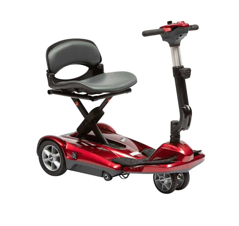Drive Dual Wheel Auto Fold Scooter image