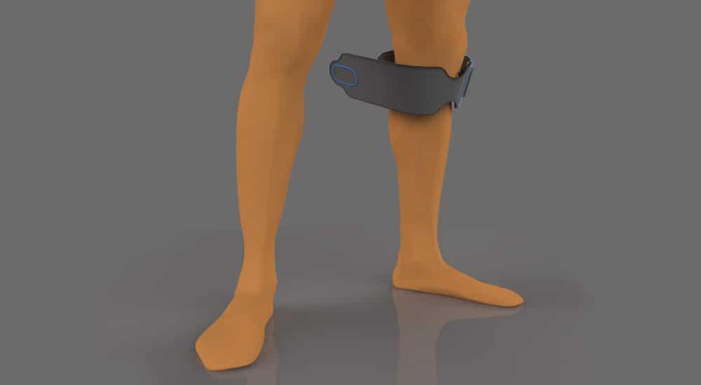 EvoWalk rendered on leg