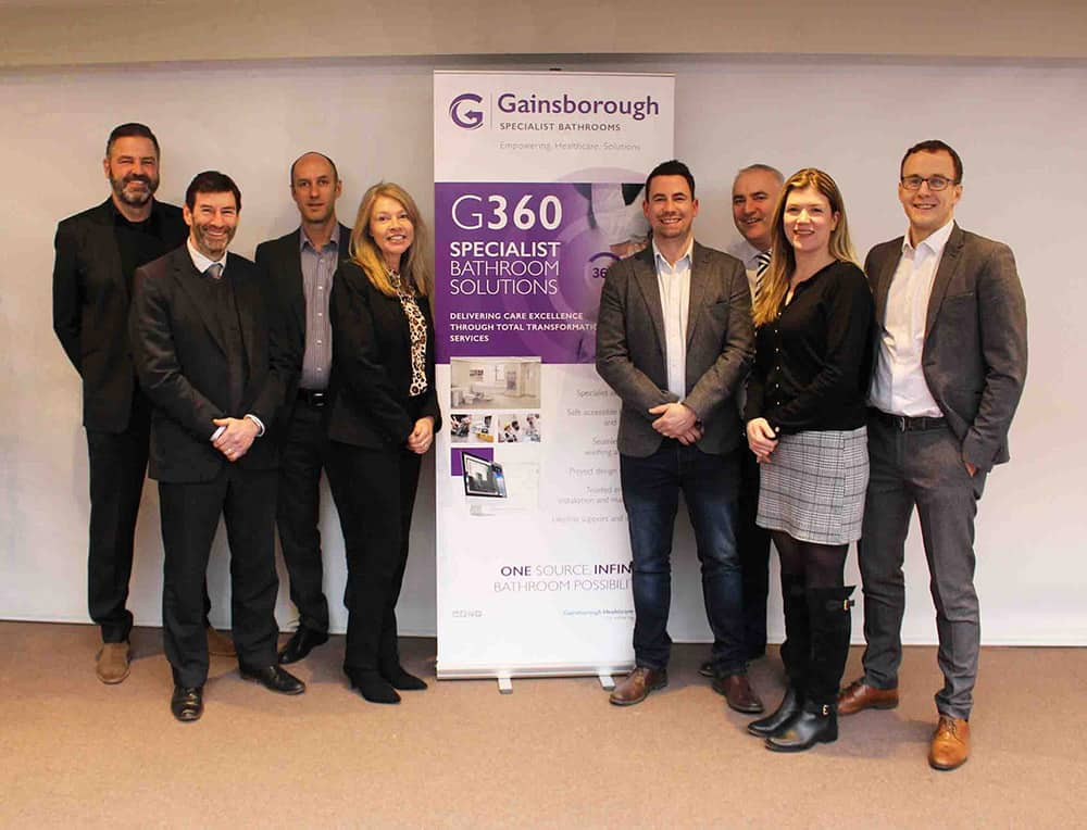 Gainsborough Healthcare Group launches G360 Specialist Bathroom Solutions image
