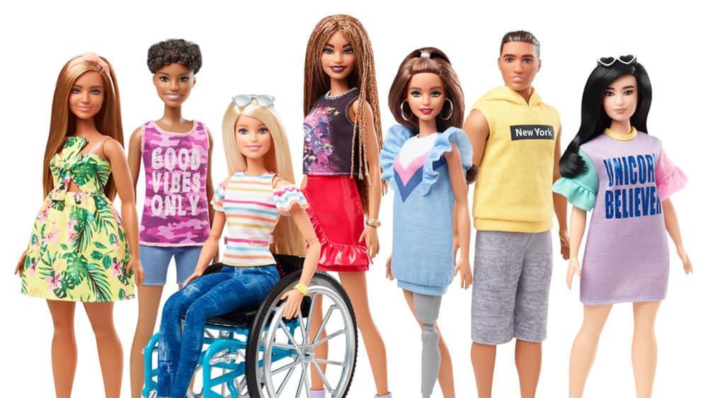 Inclusive Barbie range image