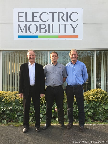Jason Hunter joins Electric Mobility image