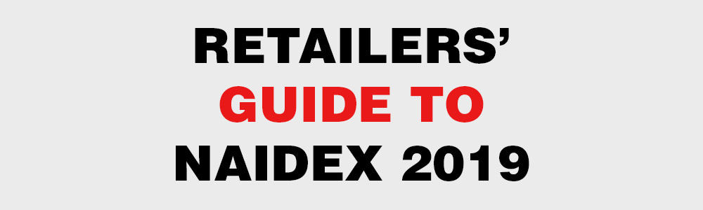 Thiis banner promoting the retailers' guide to Naidex 2019