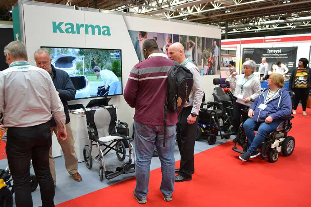 Karma Mobility at Naidex 2019 image