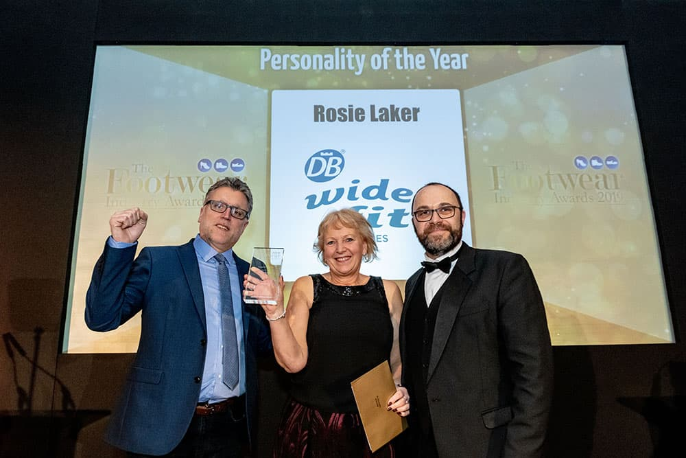 DB Shoes' Rosie Laker wins Personality of the Year Award image