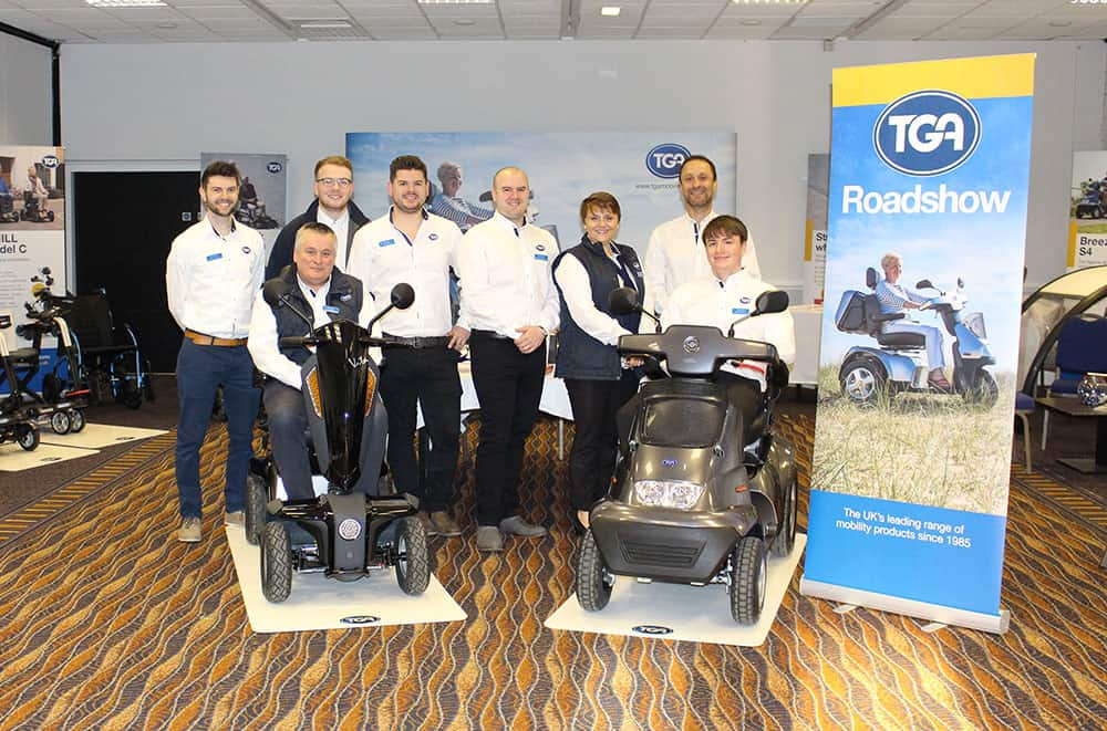 The TGA Trade Roadshow team image