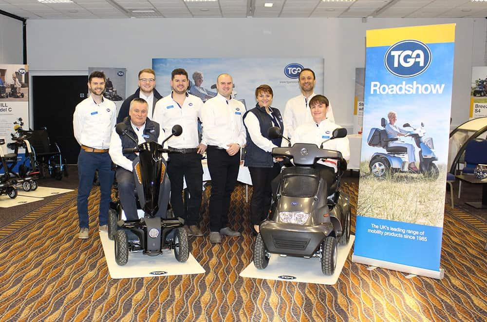 The TGA Trade Roadshow team image