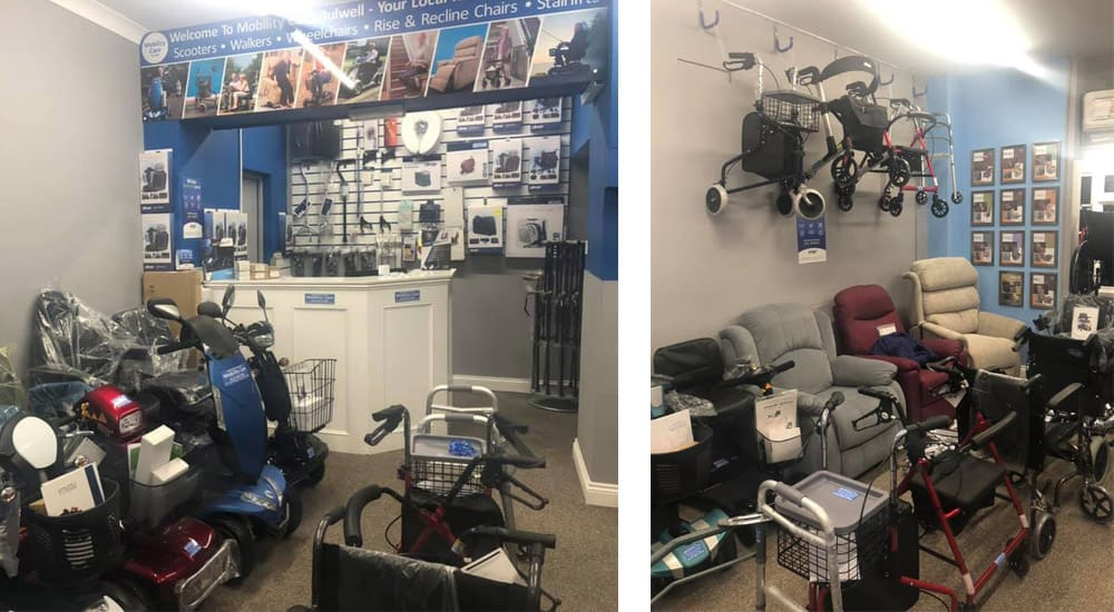 Mobility Care inside shop Bulwell