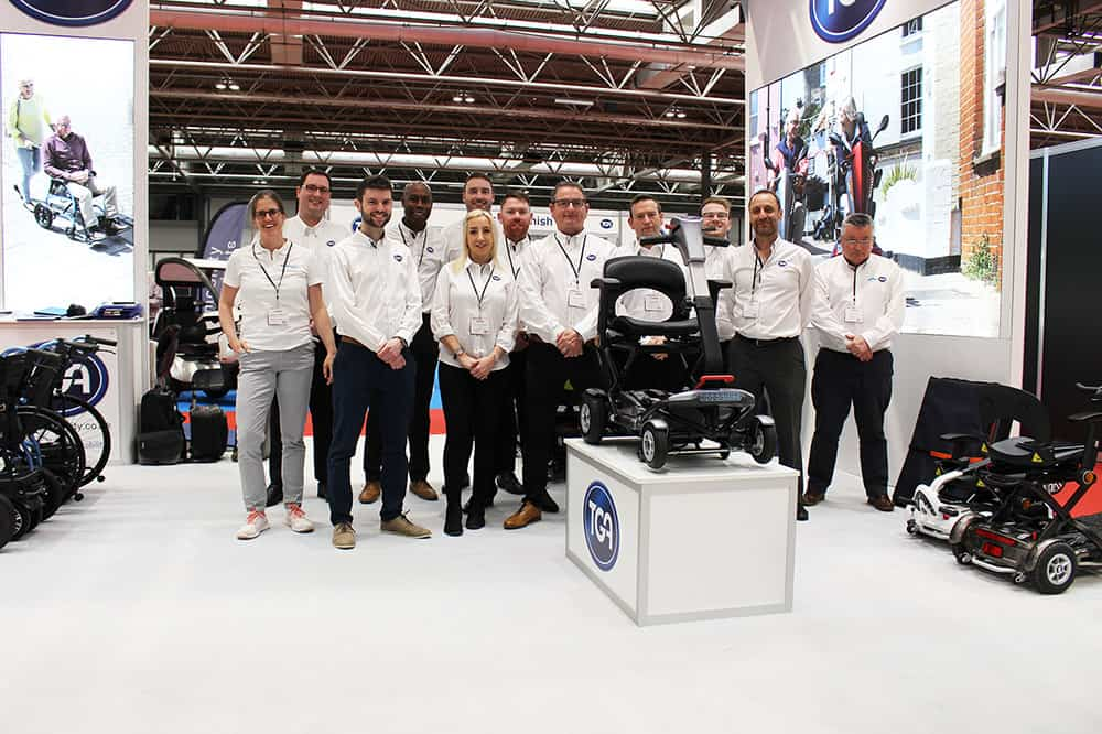 TGA at Naidex 2019 image