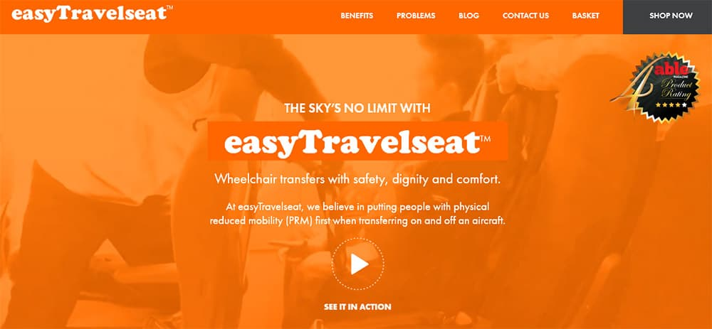 easyTravelseat website image