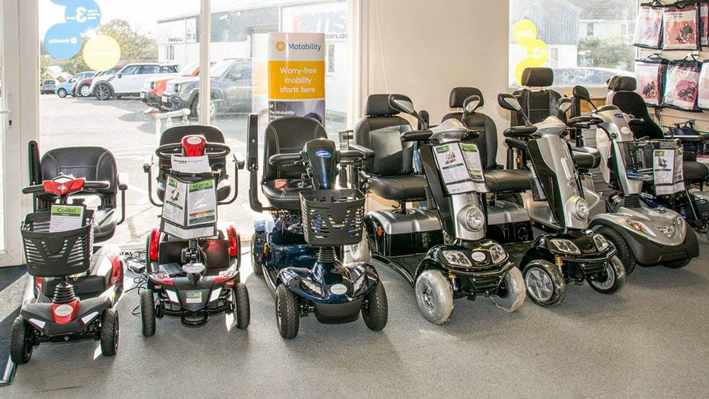 snowdrop independent living scooters in store