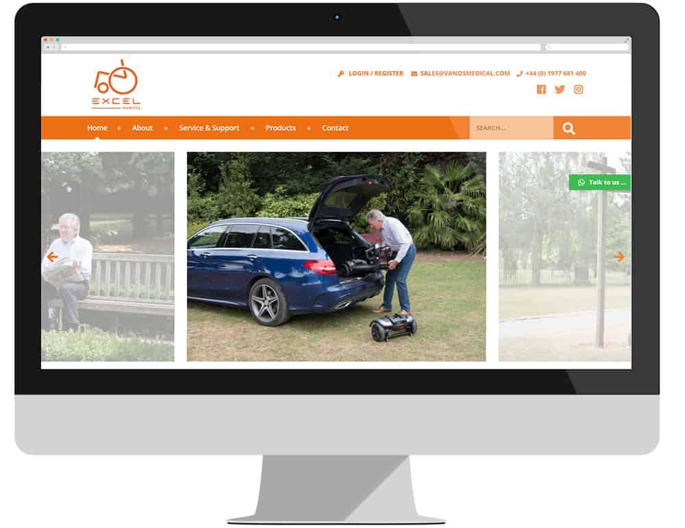 Van Os Medical new website image