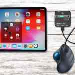 Adapter for iOS devices with mouse for iPad and iPhone