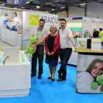 Kate Sheehan at the Abacus stand at Kidz to Adultz South