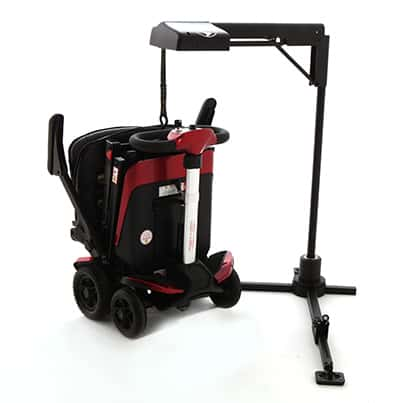 Monarch Mobility Hoist lifting scooter