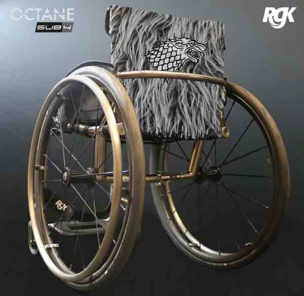 RGK Wheelchair for Bran Stark in Game of Thrones