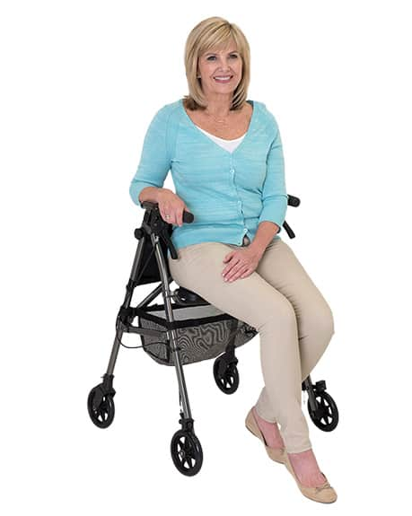 Able2 new folding rollator