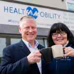 The husband and wife duo now run two arms of H&M Health & Mobility – Hugh handles the bathlift business and Yvonne focuses on retail
